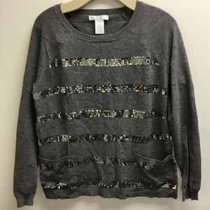 Design History Sequined Sweater